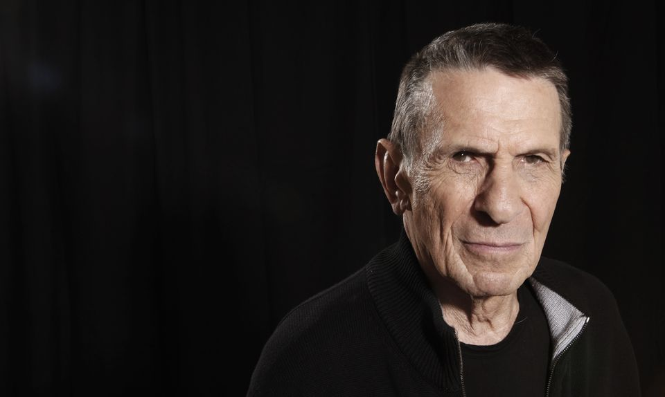 Leonard Nimoy pictured in 2009.