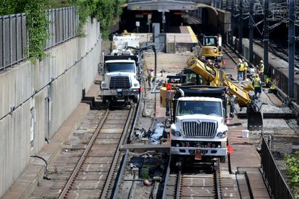MBTA plans to shut down core sections of subway lines on fall