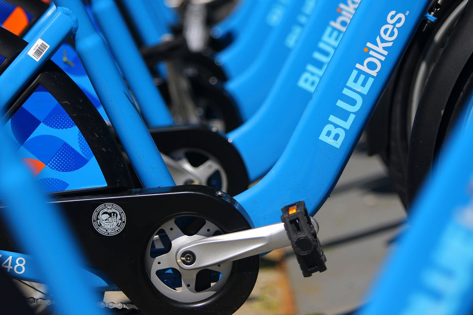 The Bluebikes bike-share program will expand to Everett this spring.