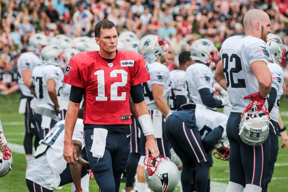 """Asked if he had sustained any concussions, Tom Brady said, """"I really don't think that's anybody's business."""""""