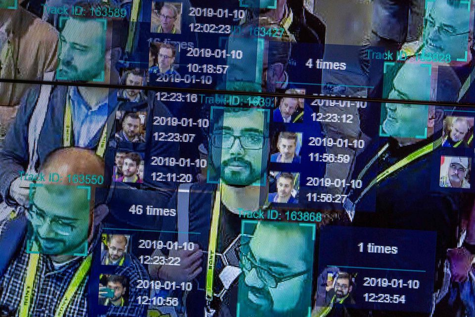 A demonstration using artificial intelligence and facial recognition in dense crowd spatial-temporal technology was held earlier this year at the CES trade show in Las Vegas.