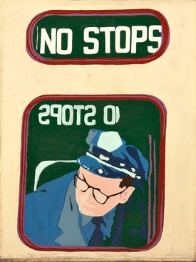 """This mural is titled """"No Stops."""""""