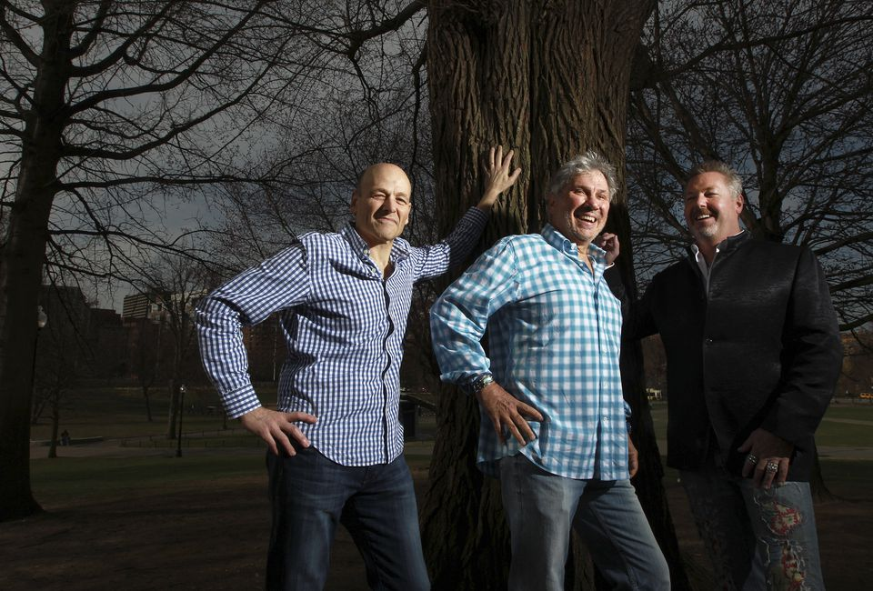 Third Rock Ventures cofounders (from left): Robert Tepper, Mark Levin, and Kevin Starr.