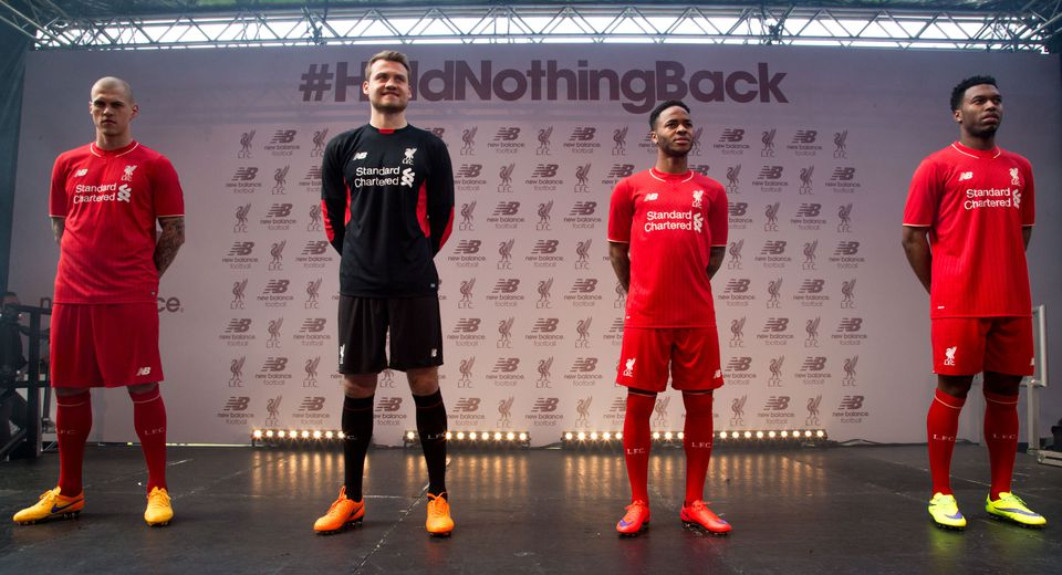 e00d20422 Liverpool unveils first New Balance soccer kit - The Boston Globe