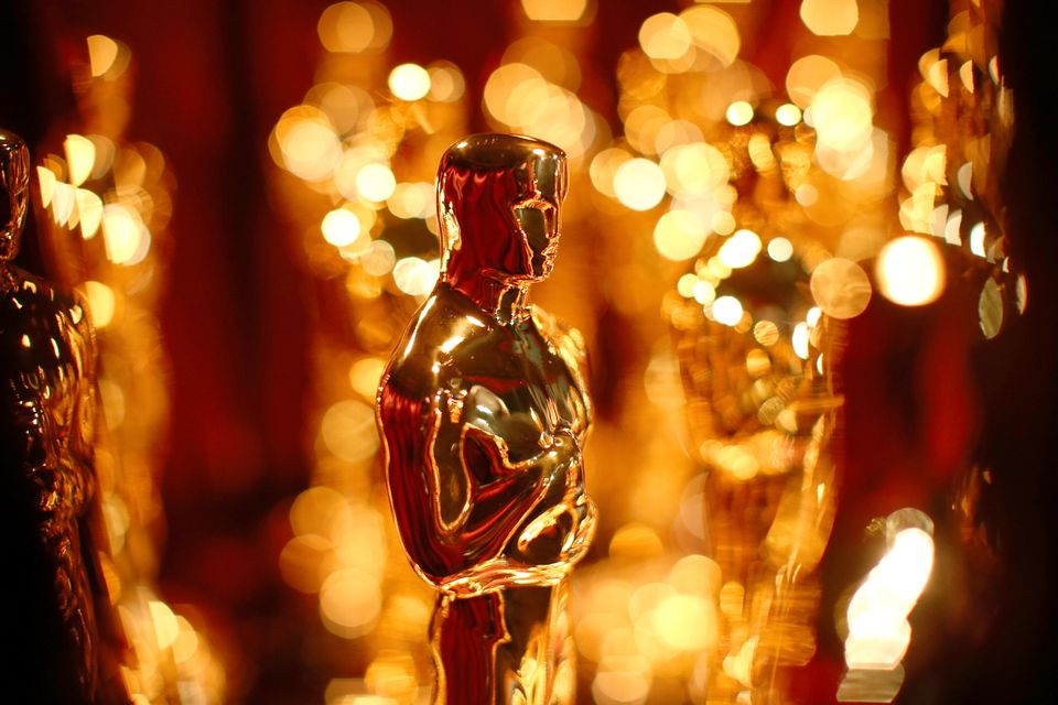 A general view of Oscar Statuettes.
