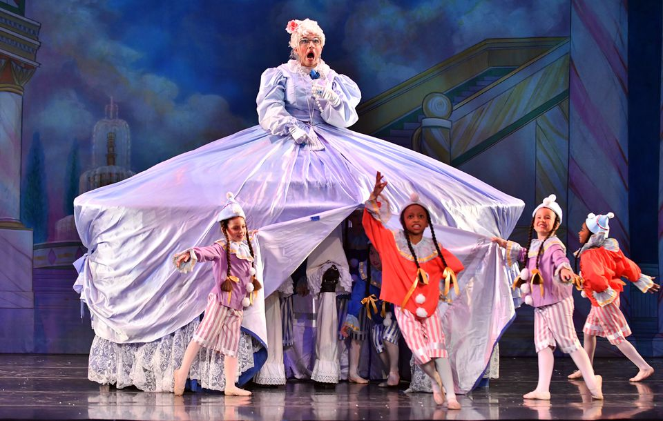 "John Wilpers will hang up his stilts Dec. 18 after 200 shows as Mother Ginger in Jose Mateo's ""Nutcracker."""