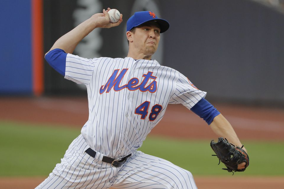 The Yankees are said to be interested in acquiring New York Mets starting pitcher Jacob deGrom.