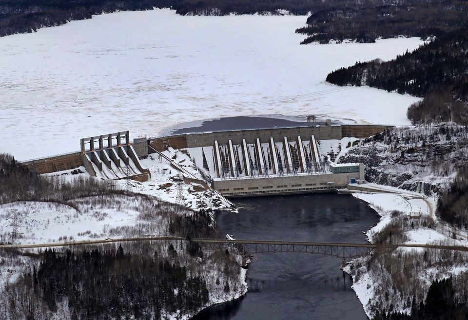 Hydro-Quebec aims to deliver power to Massachusetts. Above, its Manicouagan-2 dam.