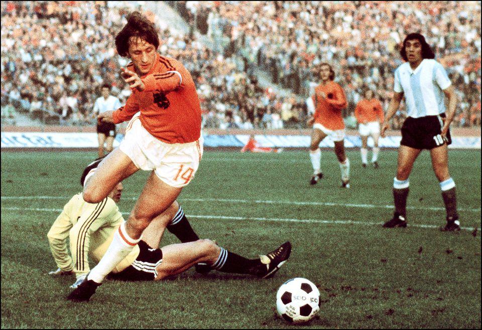 Johan Cruyff was a three-time European player of the year.