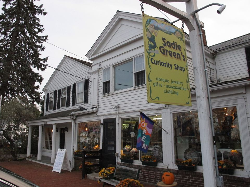Sadie Green's Curiosity Shop on Main Street offers an array of items.