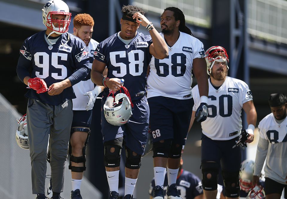The Patriots had another OTA in Foxborough Thursday.