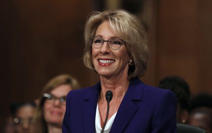 Betsy Devos Nomination Chilling >> Betsy Devos Confirmed As Education Secretary Thanks To Vp The