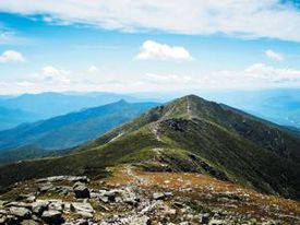 New Hampshire's Franconia Ridge, on the Appalachian Trail.