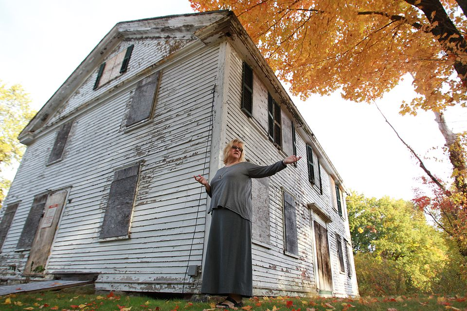 """""""This house is one of the most important historic buildings in Framingham,"""" said Janice Thompson of the The Sarah and Peter Clayes House Preservation Project."""