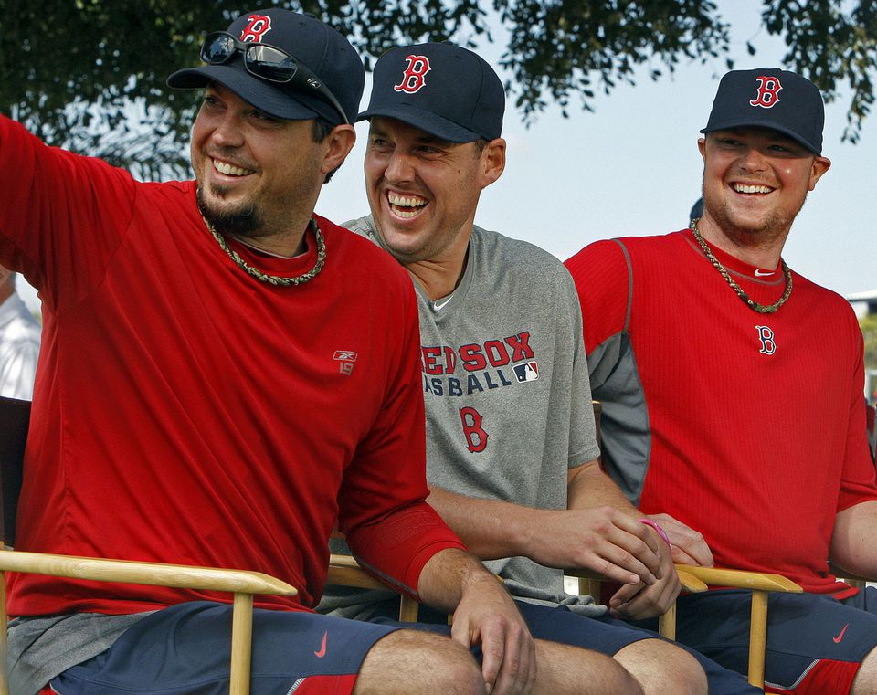 With their clubhouse behavior, pitchers Josh Beckett, John Lackey, and Jon Lester violated unwritten rules about supporting teammates in the dugout.