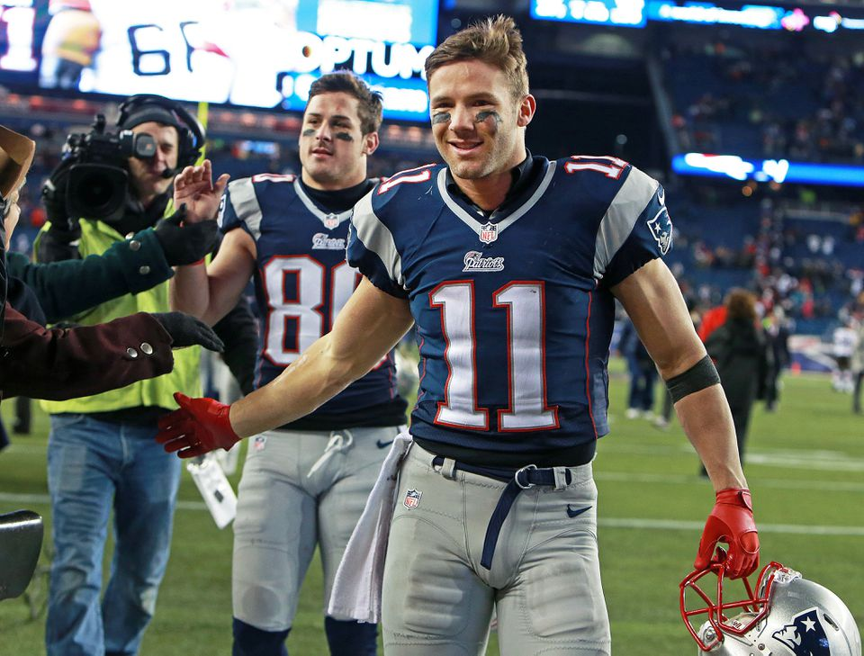 Julian Edelman has emerged as a prime receiver for Tom Brady as well as one of the league's most efficient punt returners.