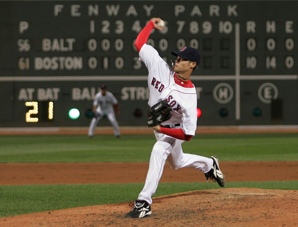 Rookie Clay Buchholz fired a no-hitter against the Orioles.