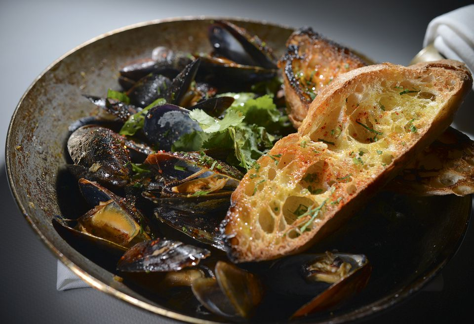 Mussels at Merrill & Co.