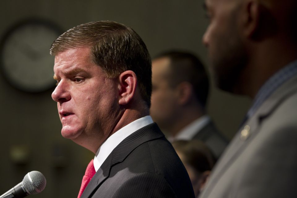 Mayor Martin J. Walsh said the US Olympic Committee was long aware that he had misgivings about the cost overruns guarantee.