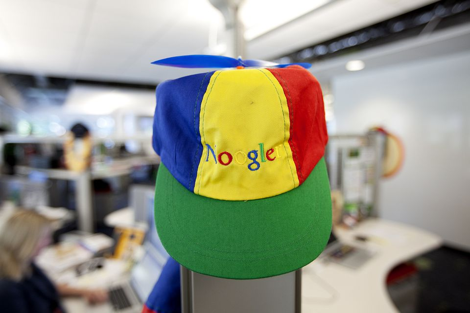 """To earn their """"Noogler"""" caps, new Google employees must demonstrate more than """"raw intellectual horsepower."""""""