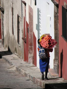Life in San Miguel.