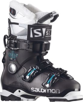 08chillgear -Salomon Quest Access Custom Heat ski boots. (handout)