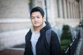 """Joey Hsu of Taiwan, who attends Northeastern, said that he finds Boston """"energetic, young, and friendly."""""""