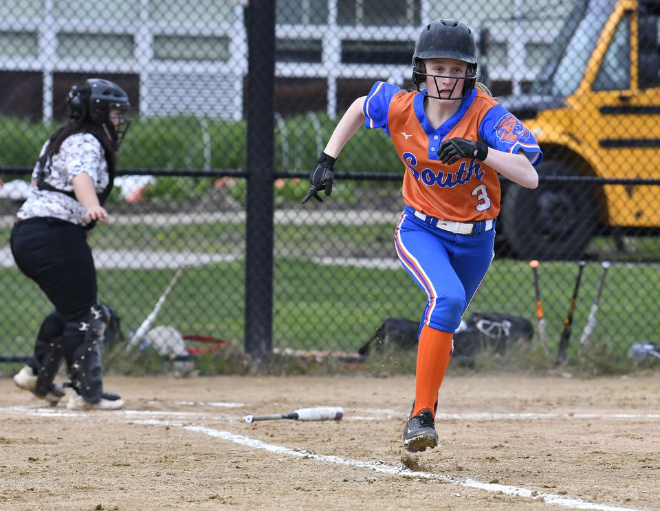 Newton South sophomore Stephanie Little went all out to make the varsity.