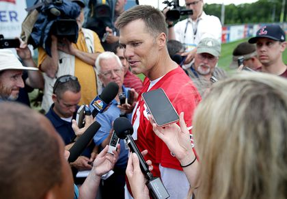 Tom Brady clears the air: He's not ready to retire, and family comes