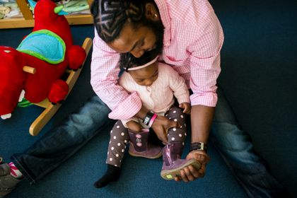 1cc7fa31b5249e At Room to Grow, families in need can find quality shoes, boots, clothes