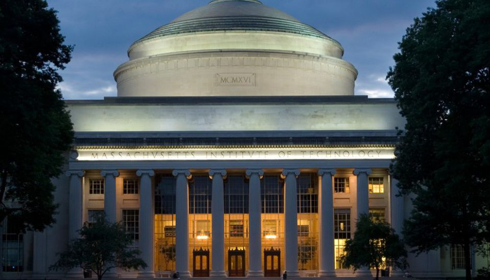 MIT was third in this year's US News & World Report rankings.