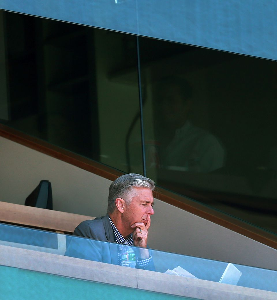 Any decision Dave Dombrowski makes will be measured and analyzed.