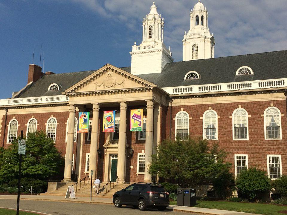 Newton City Hall.