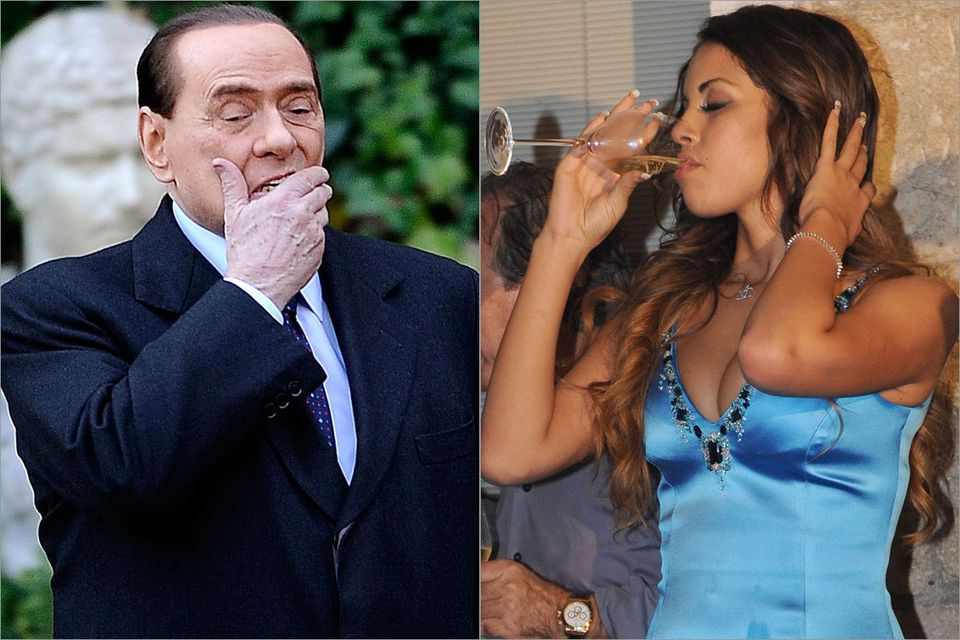 Former prime minister Silvio Berlusconi was found guilty of paying for sex with Karima El-Mahroug before she turned 18, and abusing his office to cover it up. He denies any wrongdoing. The conviction will undergo two appeals.