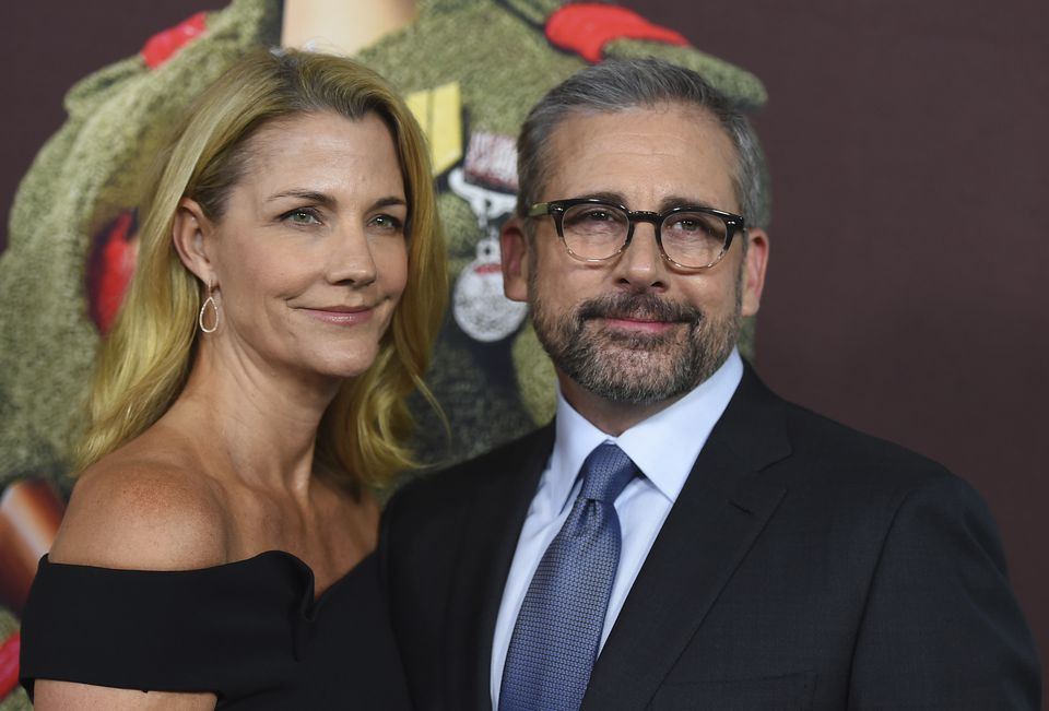 """Nancy Carell and Steve Carell arrive at the premiere of """"Welcome to Marwen"""" at Arclight Hollywood on Dec. 10, 2018 in Los Angeles."""