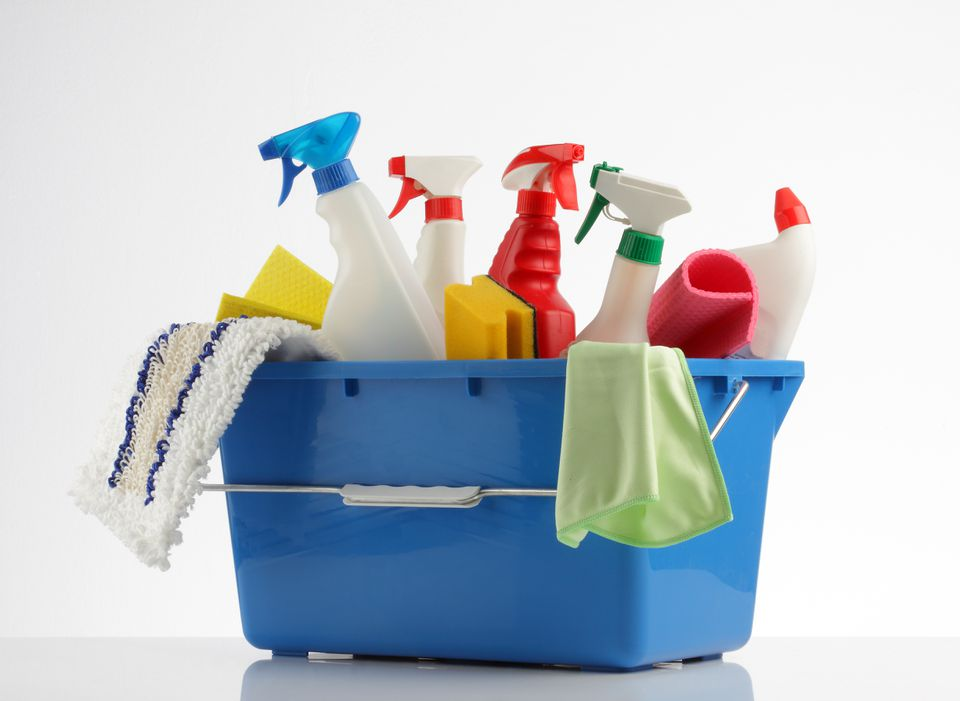 Experts say the list of things we need in our cleaning caddies is actually fairly short.