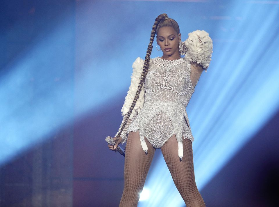 """Beyoncé performs on the """"On The Run II"""" tour at Lincoln Financial Field on July 30, 2018 in Philadelphia, PA."""
