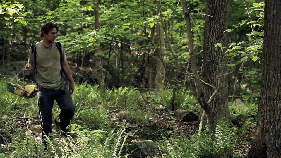 """Jason Cortlund in """"Now, Forager."""" Cortlund also co-directed the film with Julia Halperin."""