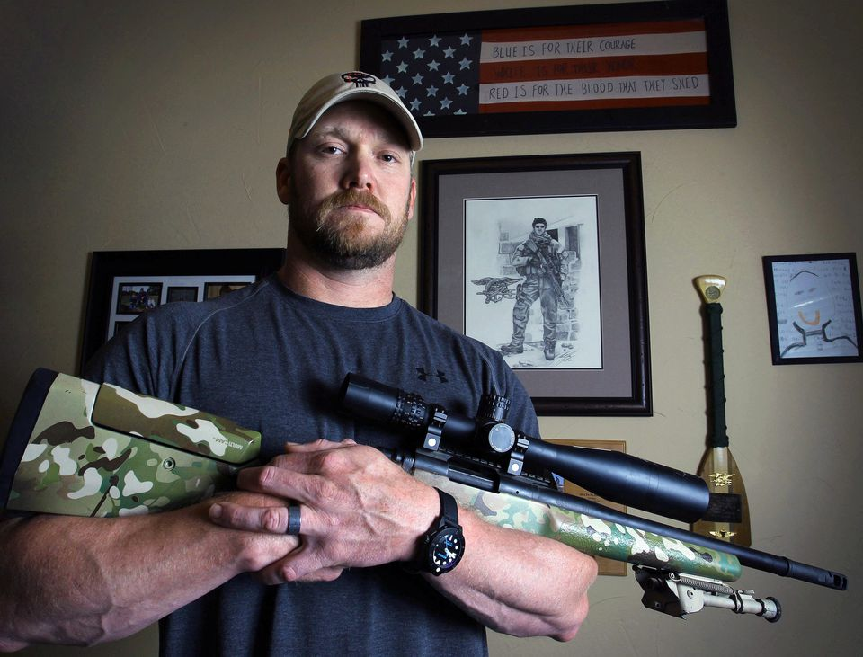 """The new Clint Eastwood film, """"American Sniper,"""" is based on the life of now-deceased Navy SEAL Chris Kyle."""