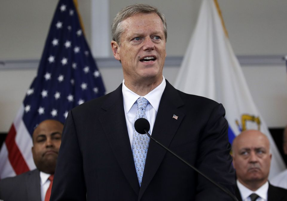Governor Charlie Baker said Wednesday he will vote against a ballot question that would limit the number of patients assigned to hospital nurses at one time.