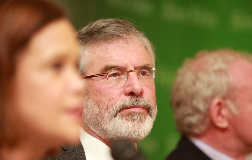 Sinn Fein president Gerry Adams was arrested and questioned by Northern Ireland police based on interviews reportedly given for the Boston College oral history project.