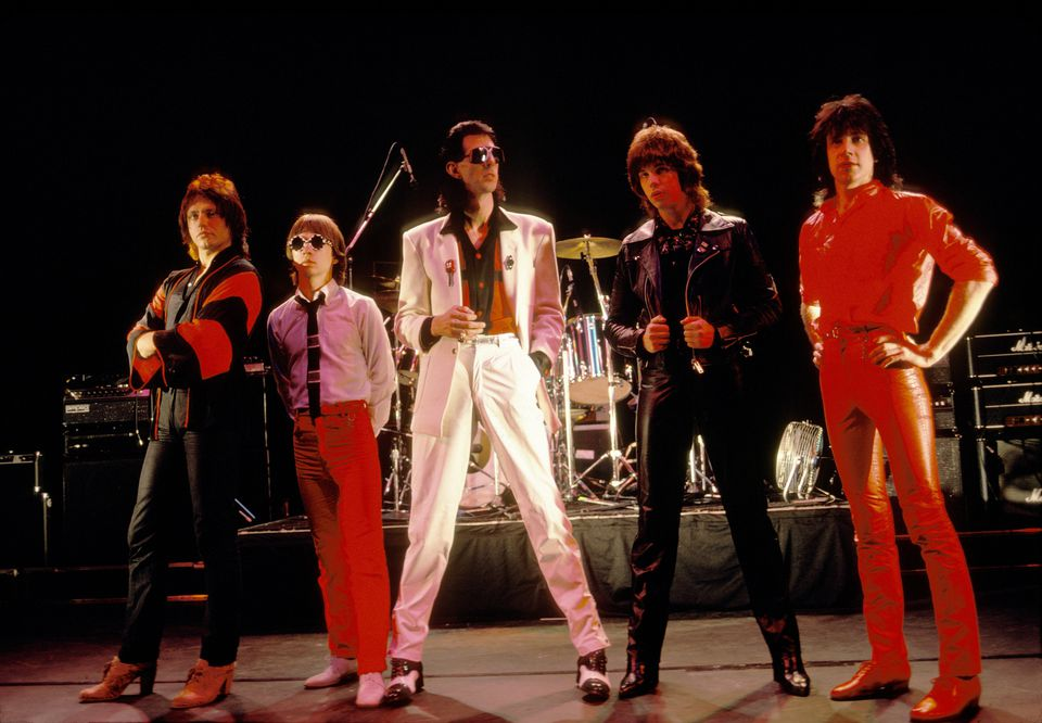 The Cars in 1979 (from left): Benjamin Orr, Greg Hawkes, Ric Ocasek, Elliot Easton, and David Robinson (Ebet Roberts/Redferns/Getty Images/file)