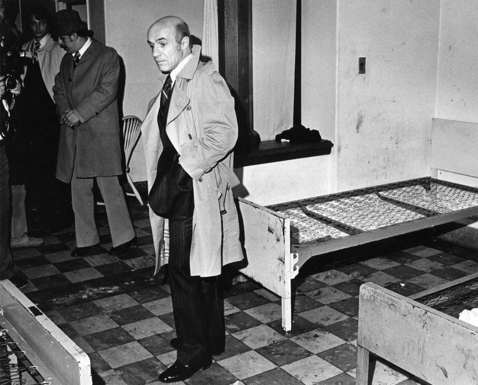 Judge Tauro on a tour of the state hospital in Danvers in 1979. His decisions became national models.