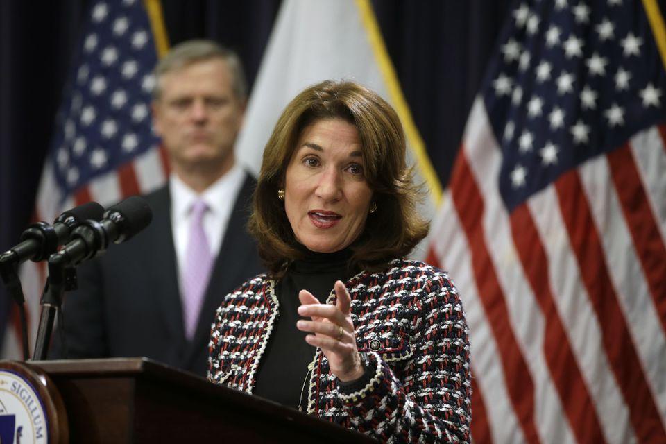 Massachusetts Lieutenant Governor Karyn Polito.