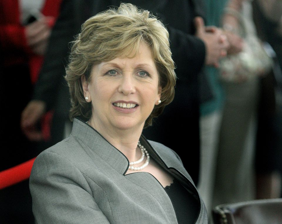 """Mary McAleese, the former president of Ireland, said, """"I still believe the world needs the hope of God and the church as a conduit."""""""