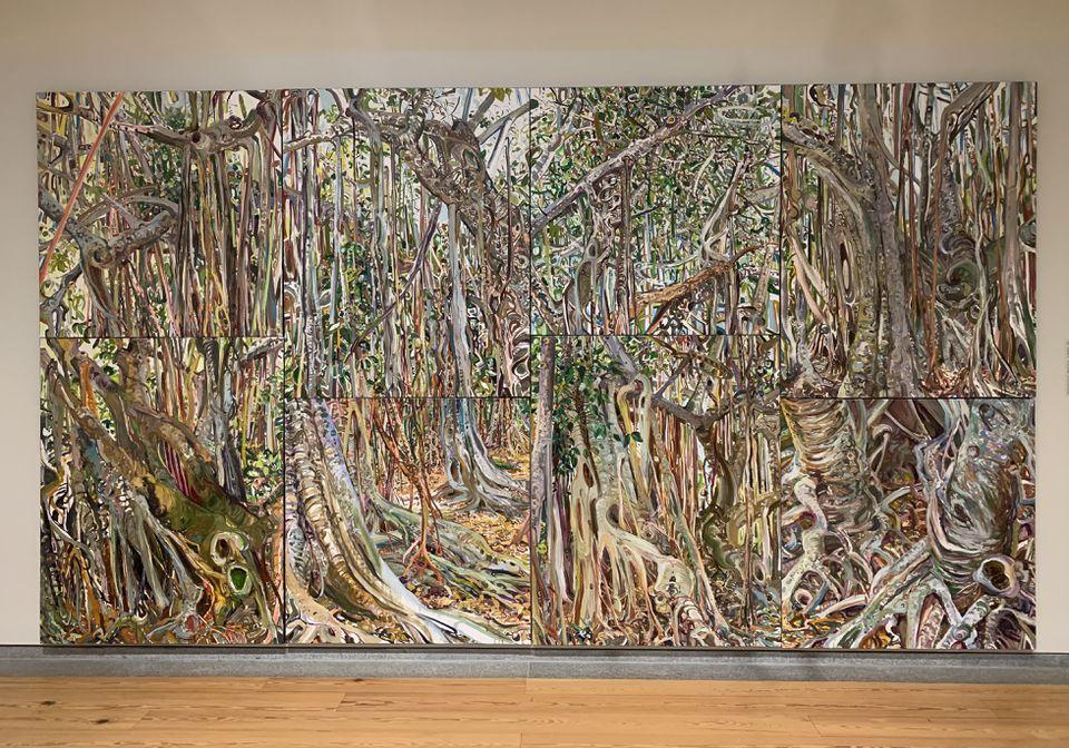 "Lilian Garcia-Roig's ""Fluid Perceptions:Banyan as a Metaphor"""