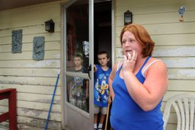 """We never worry about it,"" said Ashley Dowdy, who lives near Maine Yankee with her children."