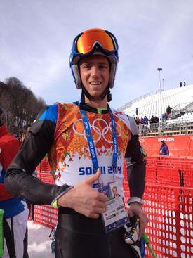 Warren Cummings Smith III, a Dedham resident and Dartmouth student, has dual citizenship and is competing in the Sochi  Games for Estonia.