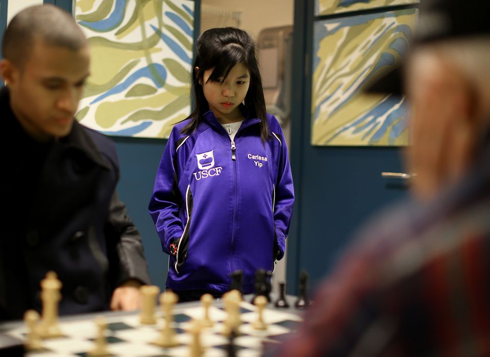 """Chess master Carissa Yip says, """"It's a challenging game and I like that about it."""""""