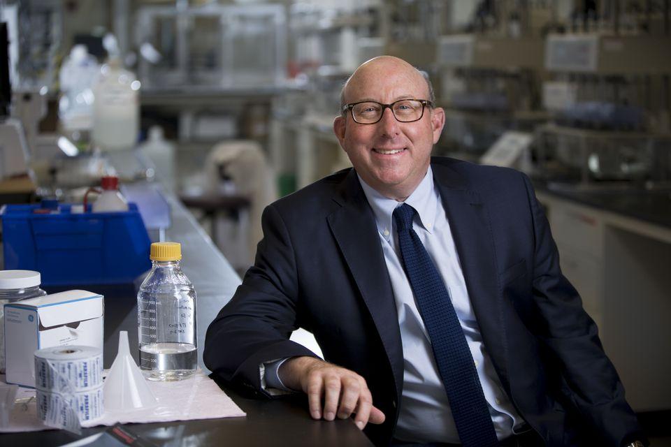 Vertex Pharmaceuticals CEO Jeffrey Leiden helped finance the Massachusetts Innovation Catalyst Fund.